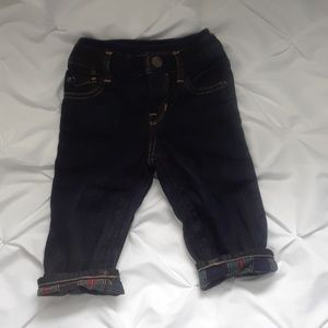Gap 6 to 12 month blue jeans boot cut